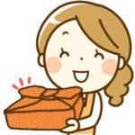 お惣菜のお届けの画像