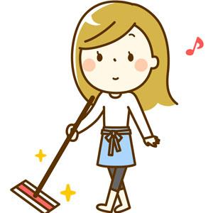 お掃除の画像