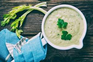 セルリアックのスープの画像